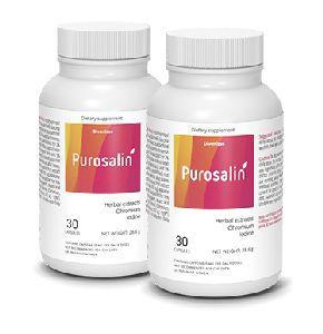 vergrote verpakking Purosalin