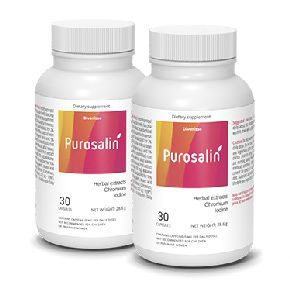 emballage de deux produits Purosalin